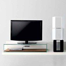 Porta Tv Flai.Mobile Porta Tv In Mdf E Vetro Flai Rubik Home