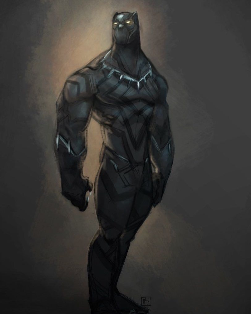 Black Panther by Corey Smith #comicbooks
