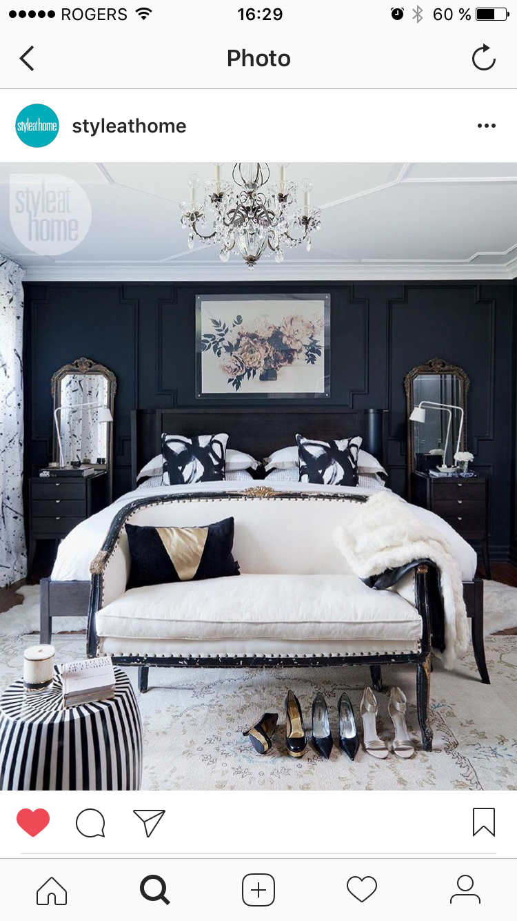 Dream bedroom from styleathome not crazy about the artwork but love