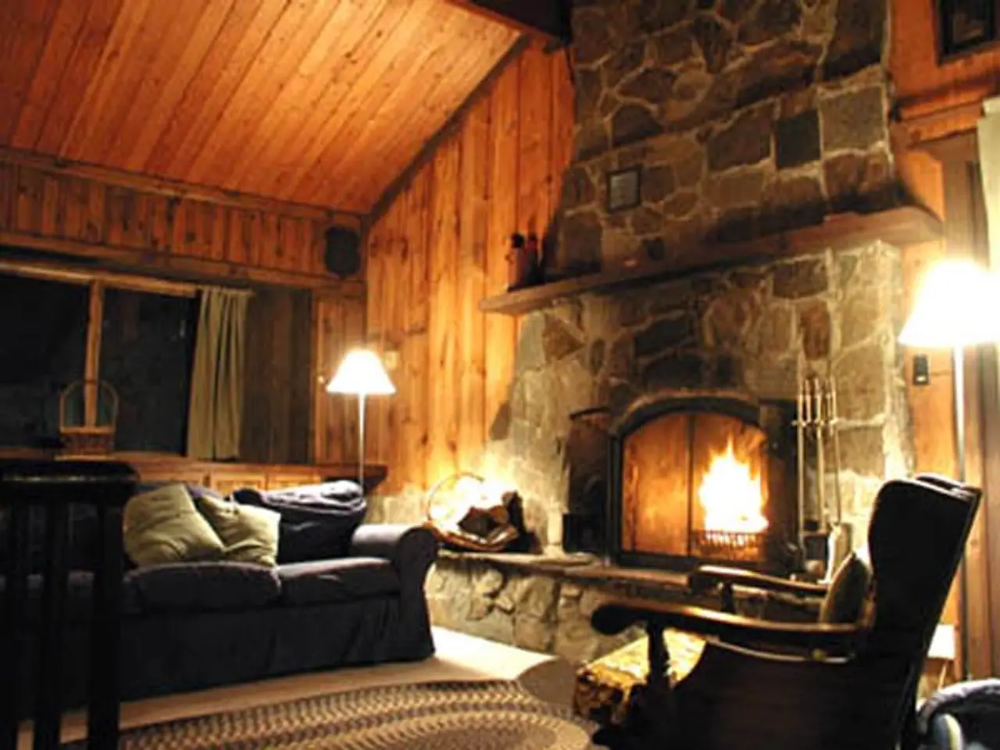 Mountain cabin at lake w/canoe Cabins for Rent in