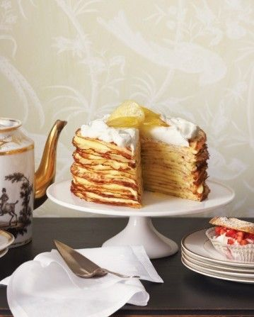 crepe cake! from Martha Stewart