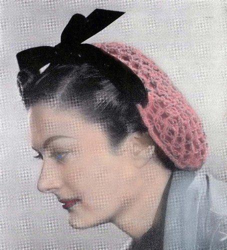 Love Knot Snood Vintage Crochet Pattern EBook « LibraryUserGroup.com ...