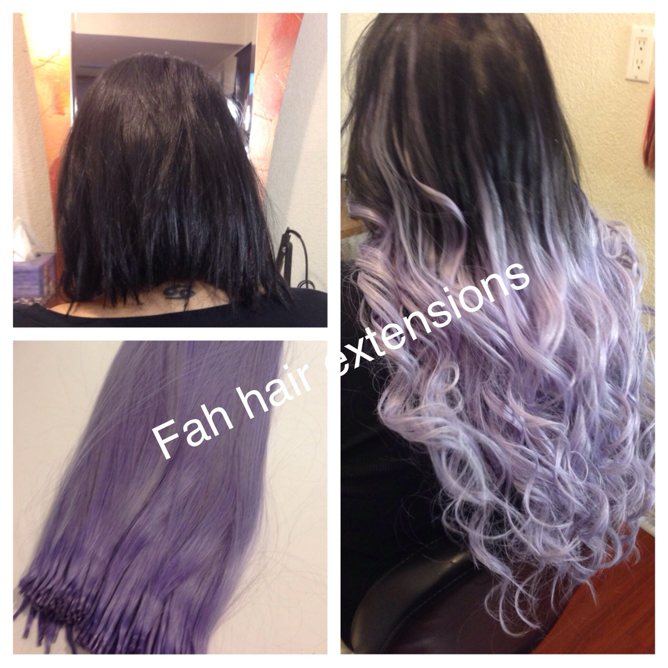 Ombr Hair Extensions All Colours In Stock Fah Hair Extensions