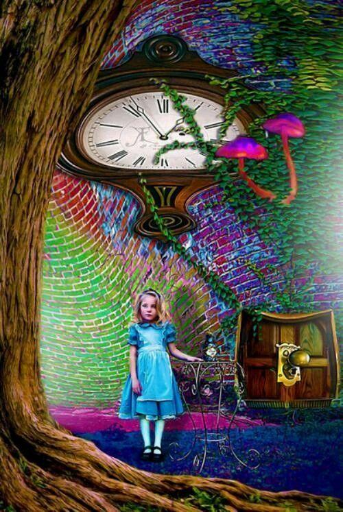 Pin De Harley Psycho Em Alice In Wonderland Surrealismo