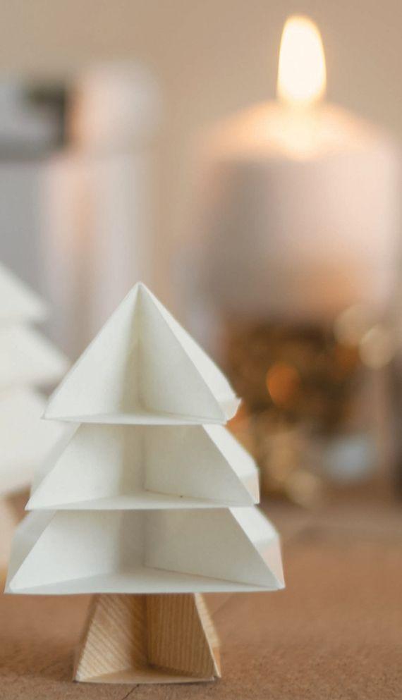 tannenbaum falten aus verschiedenen materialien basteln. Black Bedroom Furniture Sets. Home Design Ideas