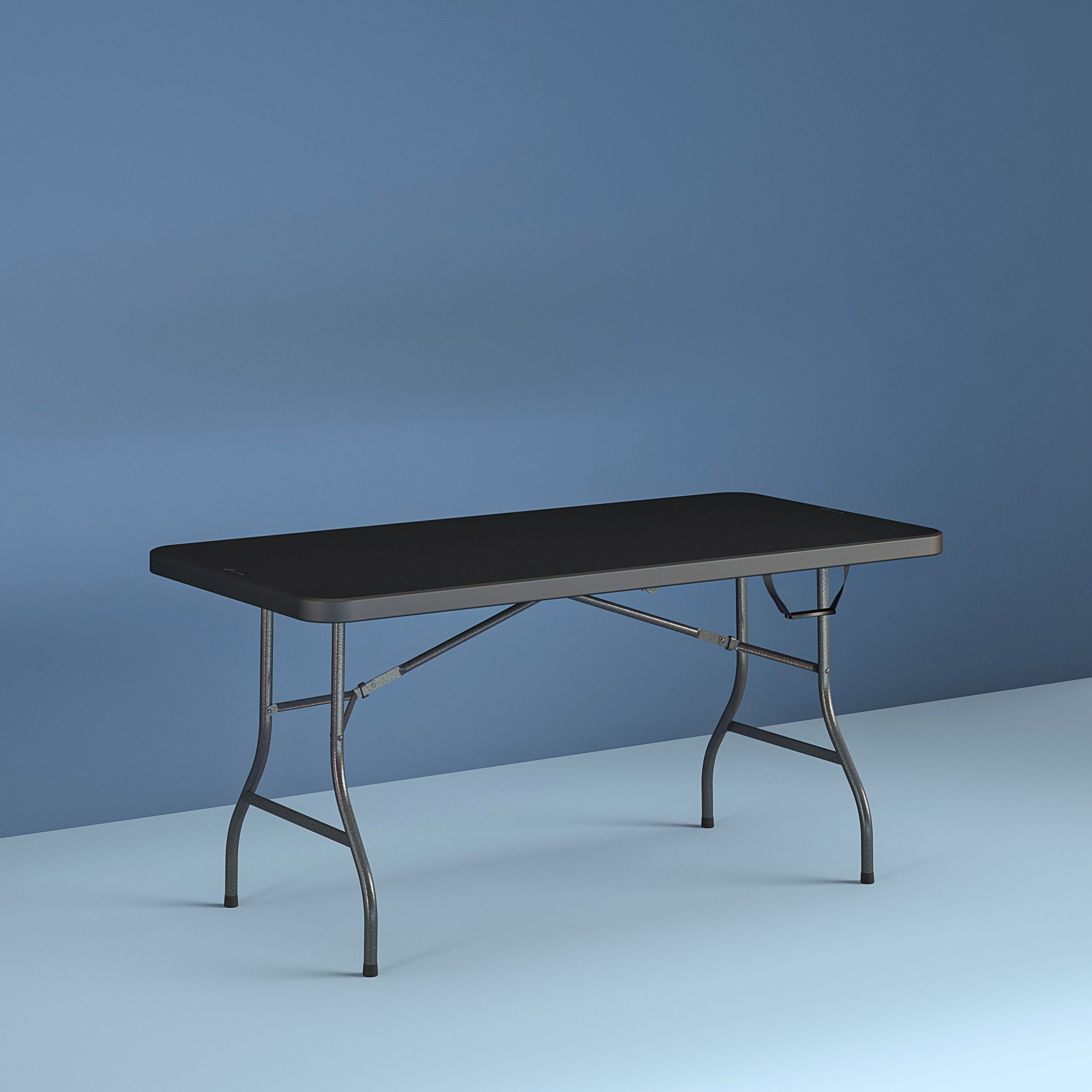 Cosco 6 Foot Centerfold Folding Table Black Walmart Com In 2020 Folding Table Cosco Table