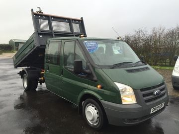 Ford Transit Tipper 115t350 Double Cab Ford Transit Ford Cars For Sale