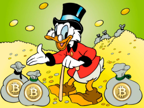 donald duck bitcoin