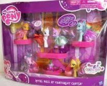 Rarity Spike the Dragon Hasbro Fluttershy Rainbow Dash My Little Pony Exclusive Set Royal Ball At Canterlot Castle Twilight Sparkle Pinkie Pie Applejack