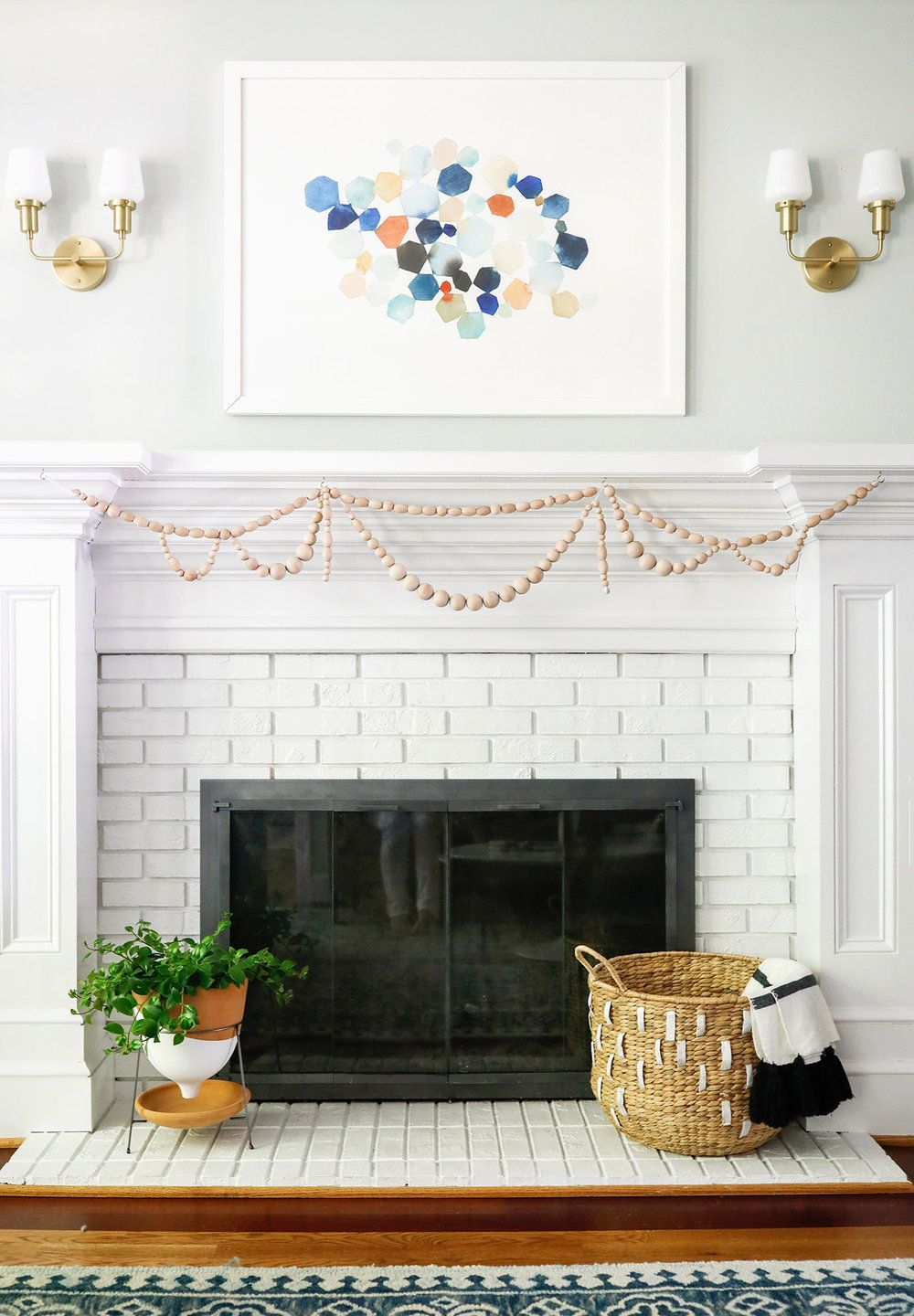 The magic of white paint in home decor living pinterest