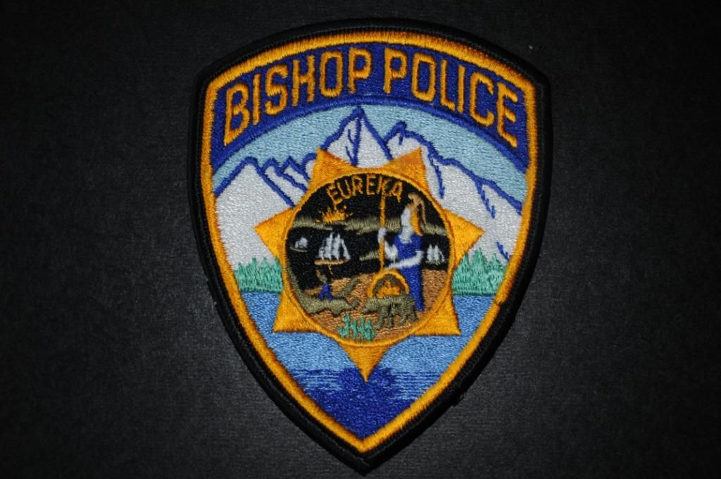 Bishop Police Department City Of Bishop Ca Police Police Patches Inyo County
