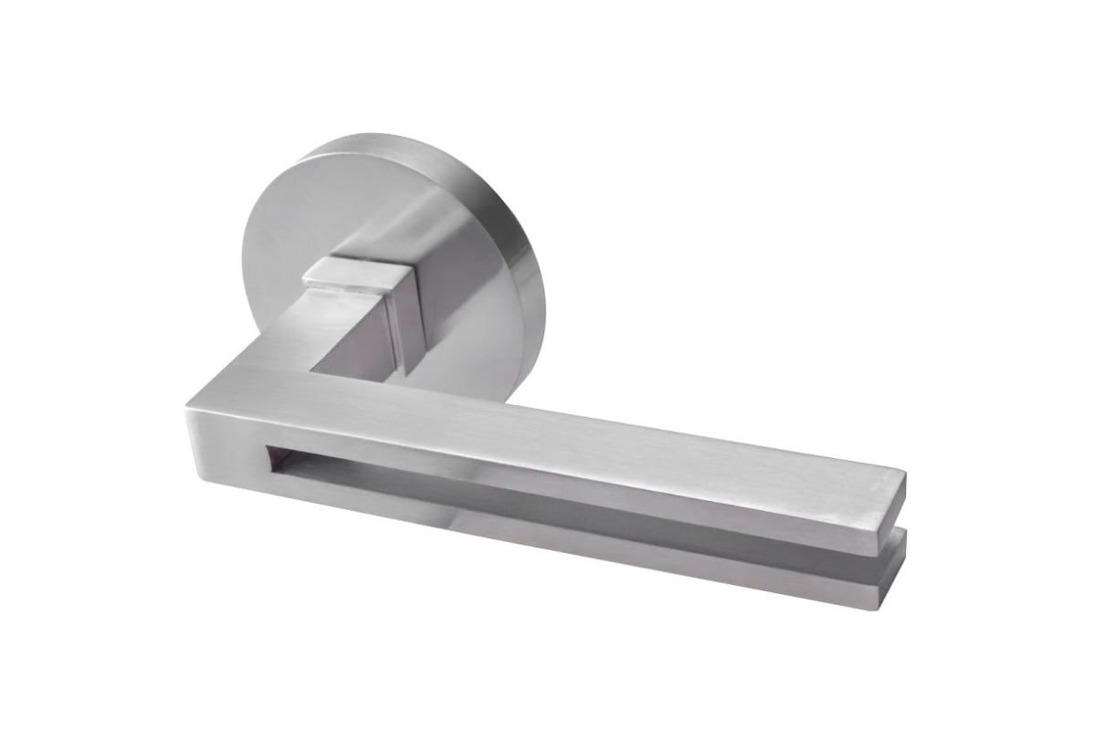 Kwikset 91550-010 Satin Nickel Milan Round Bed//Bath Privacy Lever