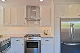 tile backsplash white cabinets - Google Search