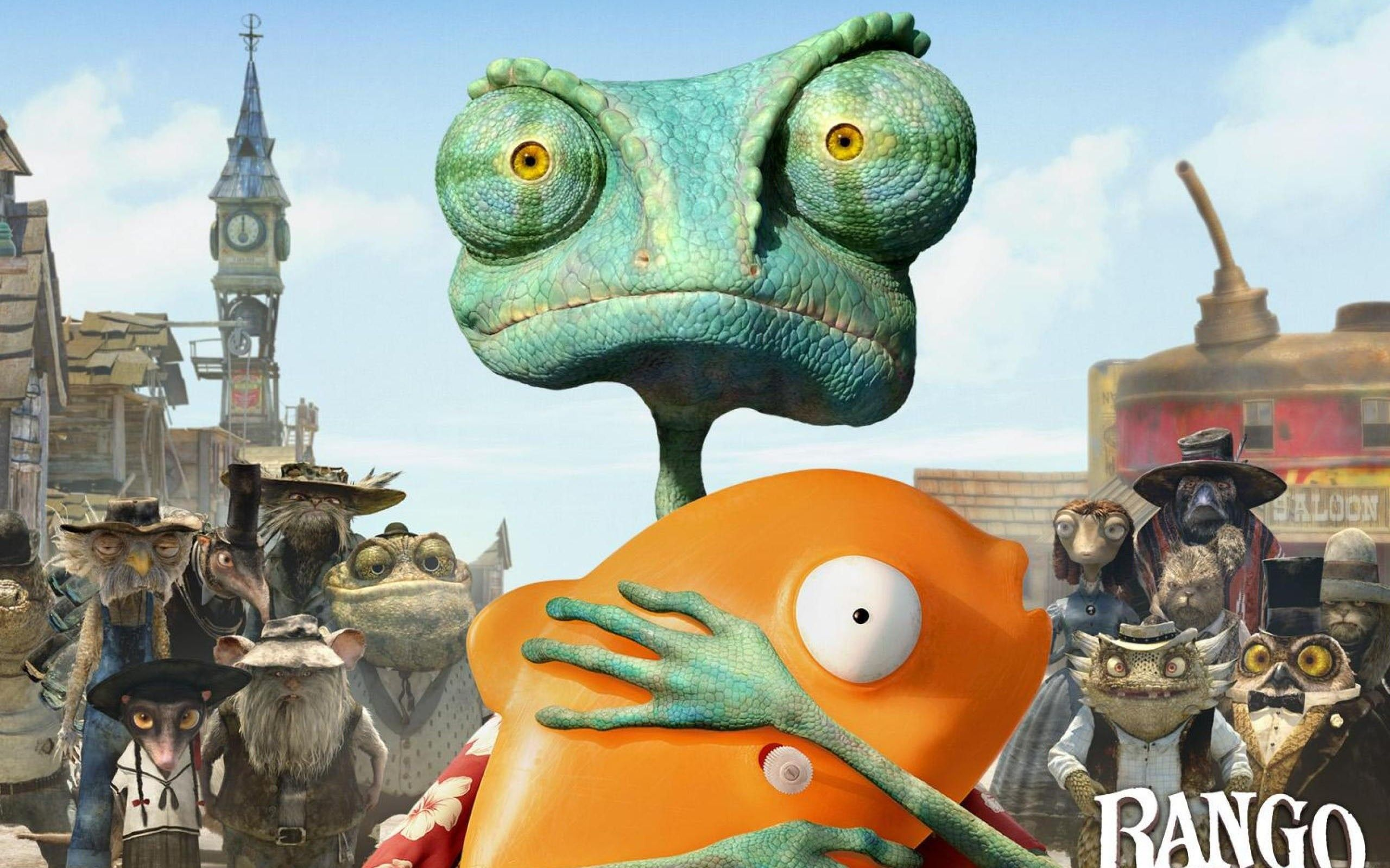Rango Savior Of The Desert Movie Wallpapers Hd Wallpaper Download For Ipad And Iphone Widescreen 2160p Uhd 4k Hd Animated Movies Kid Movies Animation Film