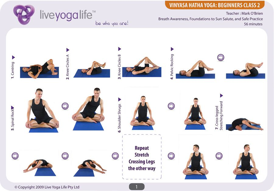 Hatha Yoga Asanas Beginners