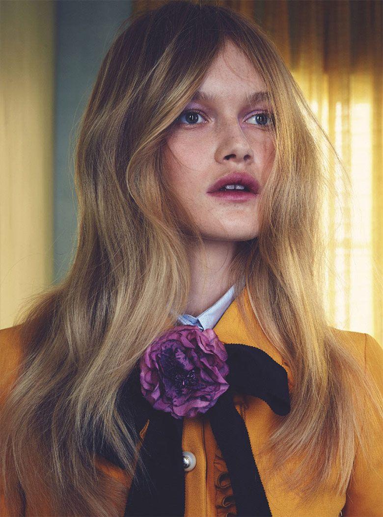 Alice Morgan for Marie Claire Australia February 2016 | The Fashionography