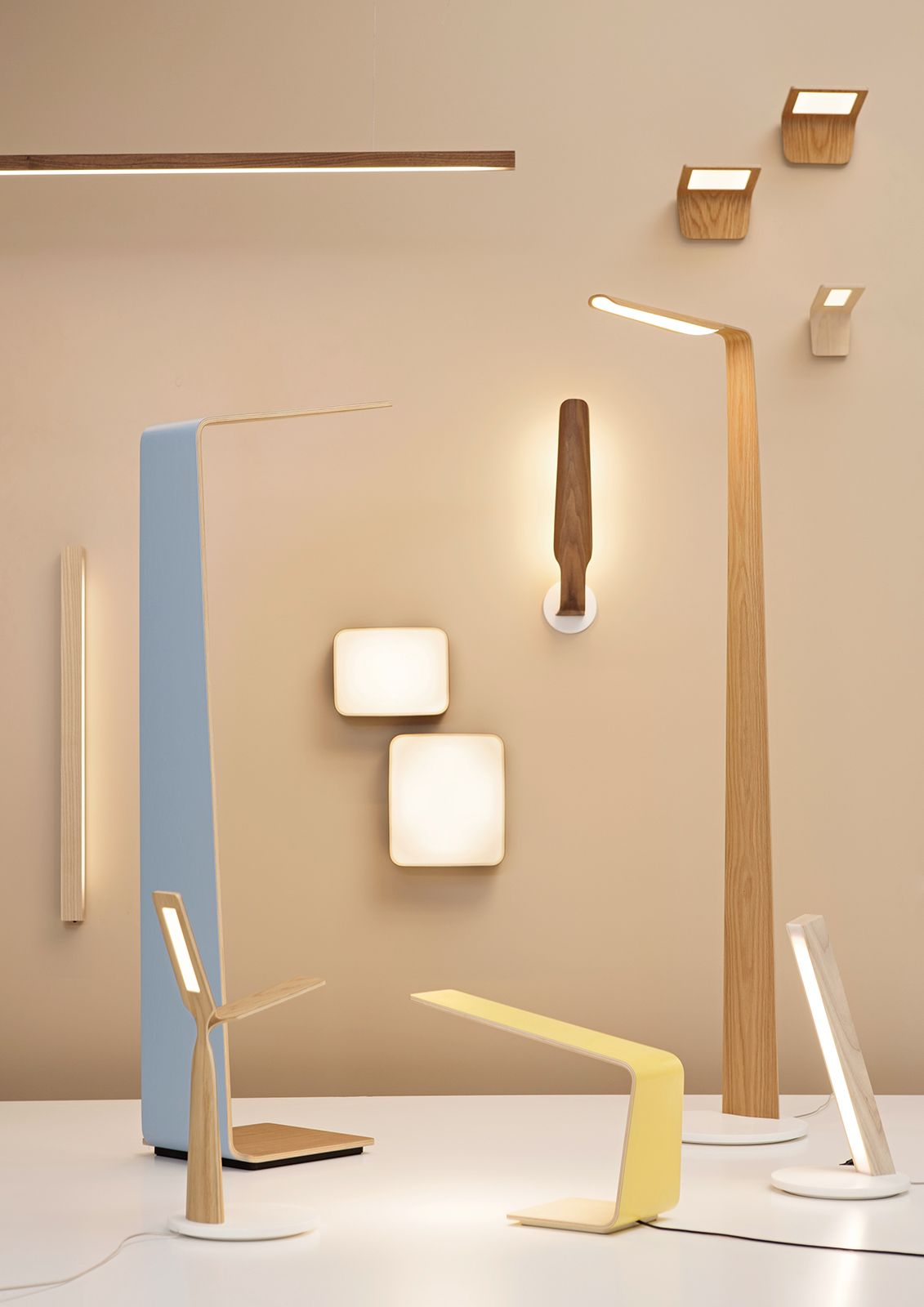Barazzi proposes the range of lamps, light, floor lamp and