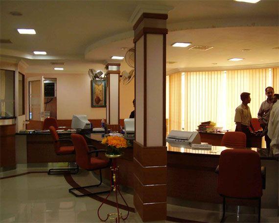 Architects UBI Karnana Proposed Interior For Bank By Mathewandsaira Architect Cochin