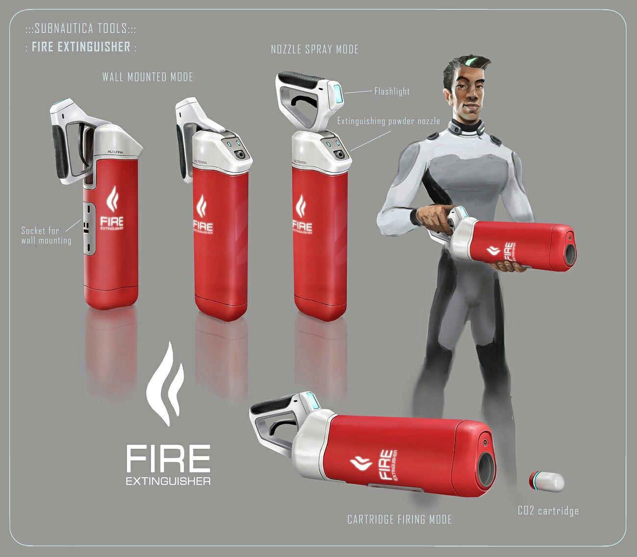 Fire Extinguisher concept art. Concept art, Concept
