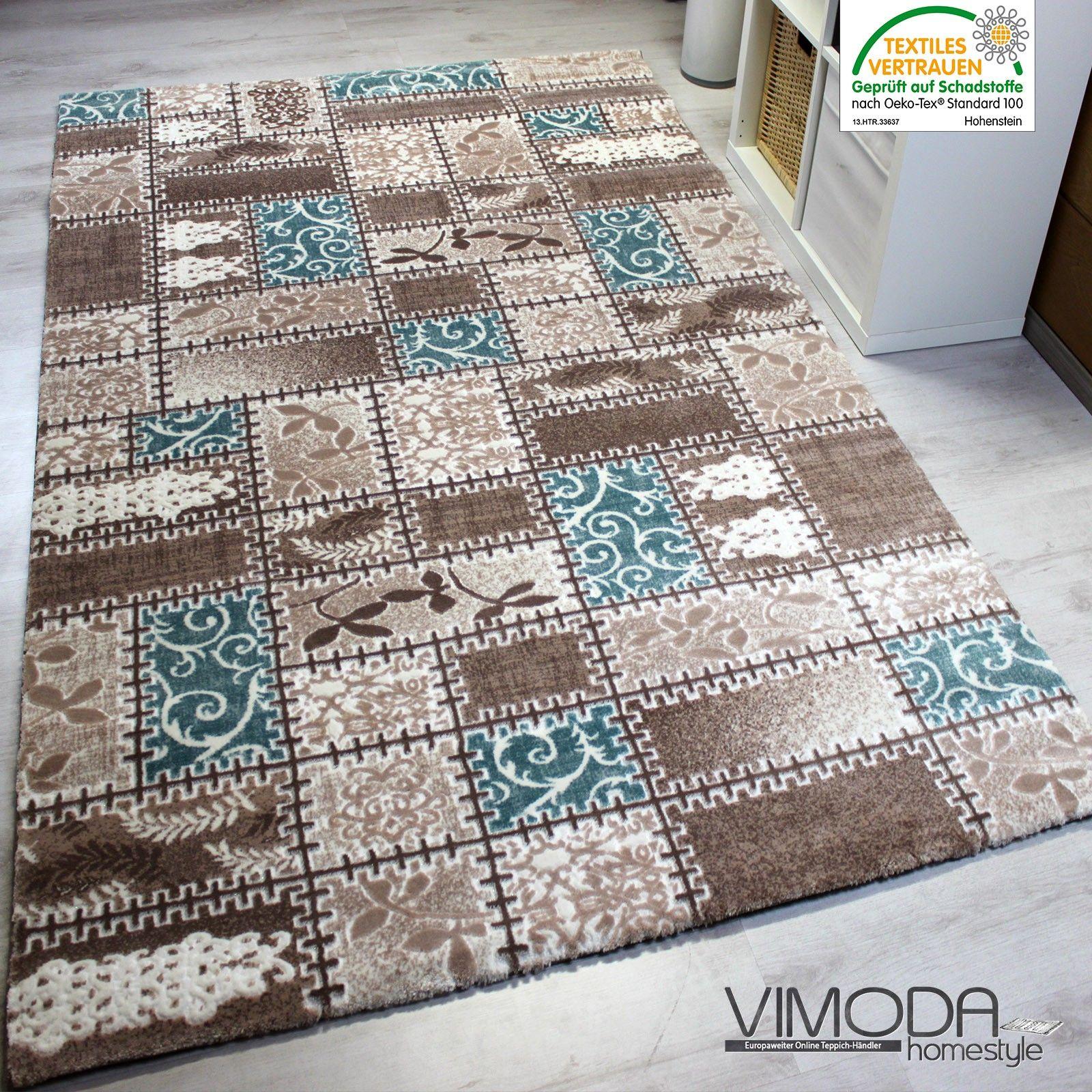 VIMODA - 160x230 - 122 euro Moderner Teppich sehr Edel, mit 3D ...