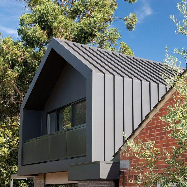 Colorbond Matt Finish Finish Revolution Roofing House Cladding Metal Cladding Exterior Cladding Exterior Modern Roof Design House Cladding Roof Design