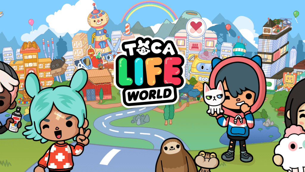 Toca Life: World | The Power of Play | Toca Boca | Create your own world,  Kids app, Life