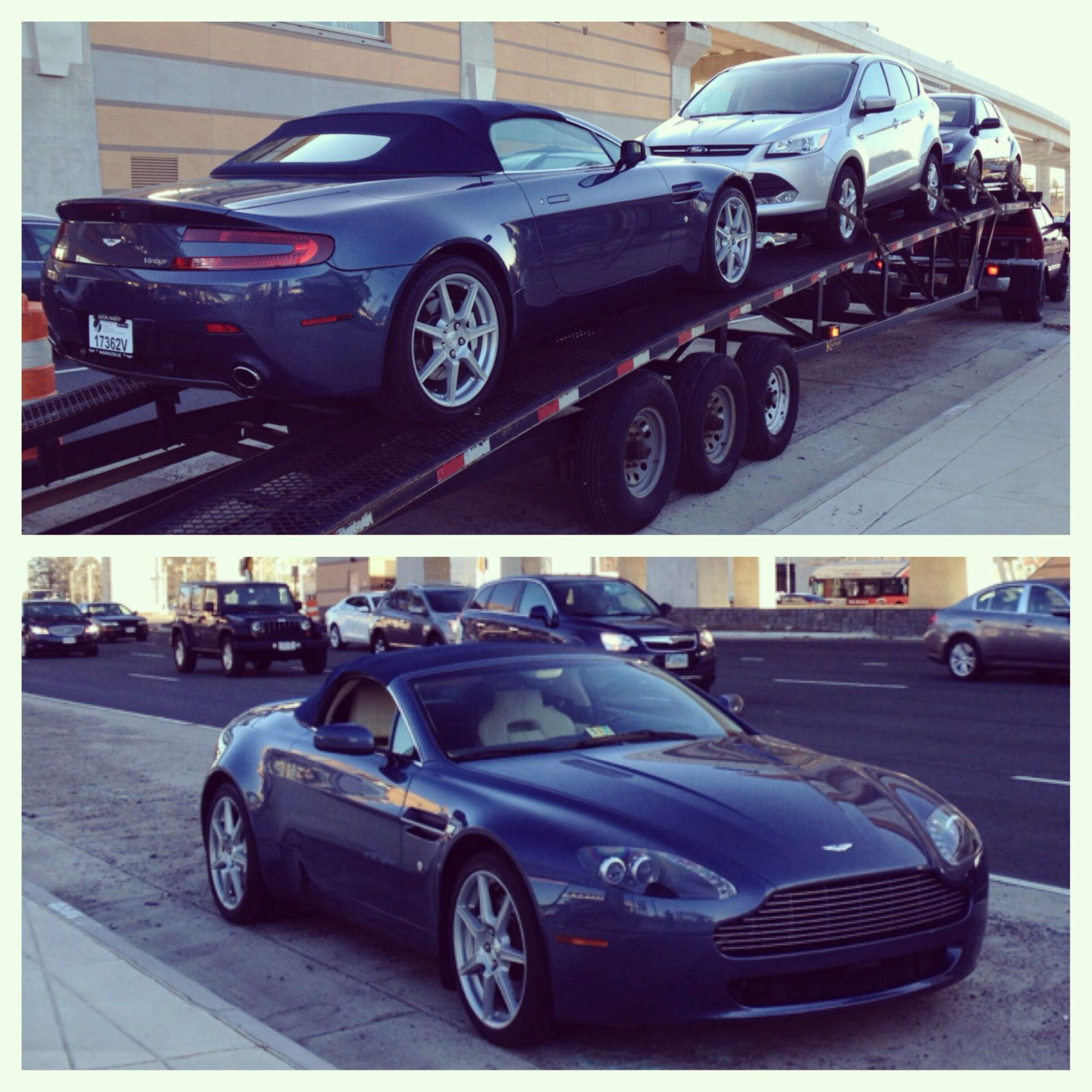 2008 Aston Martin Vantage Camshaft: Eric Your Beautiful 2008 Aston Martin Vantage V8 Roadster