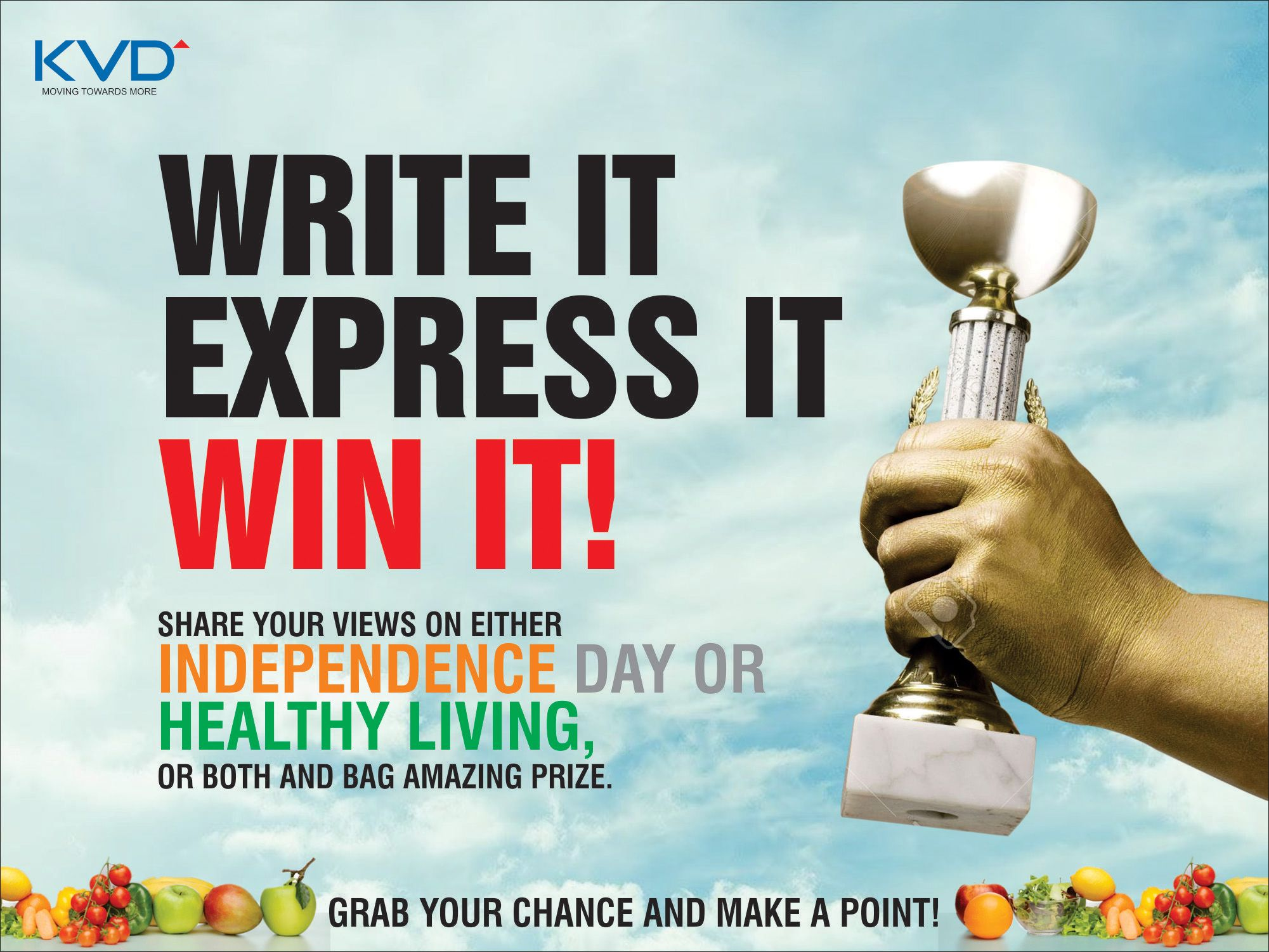 Share Your Thoughts About Independence Day Healthy Living And Won