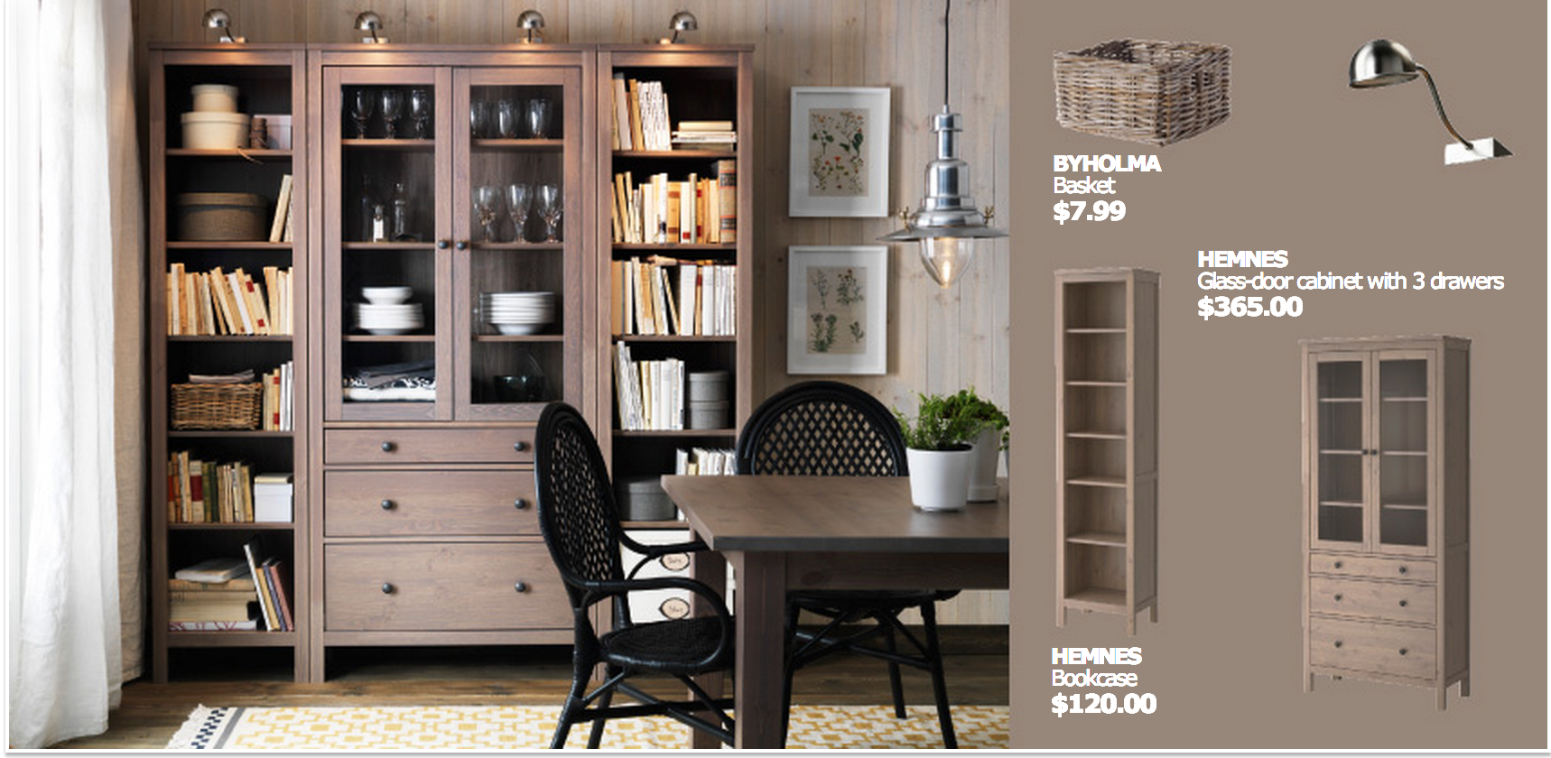 Merveilleux Ikea Hemnes Office Solution · Dining Room ...