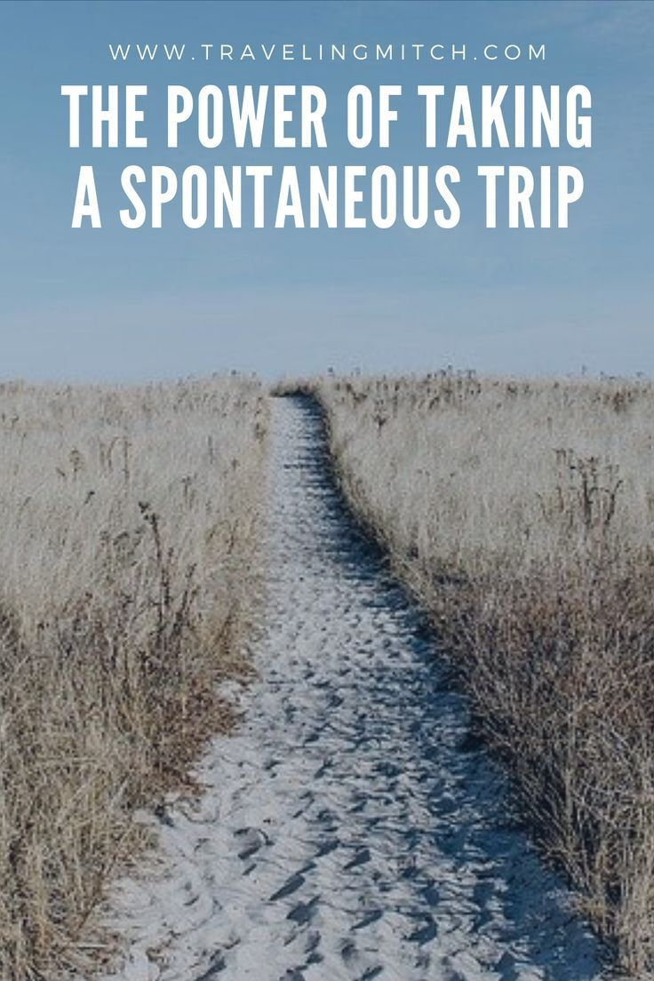 The Power of Taking a Spontaneous Trip — travelingmitch -  There's magic in a spontaneous trip because you don't know what to expect! Doing some spontaneo - #FamilyTravelbudget #FamilyTraveldestinations #FamilyTravelgoals #FamilyTravelillustration #FamilyTraveljapan #FamilyTravelkids #FamilyTravelphotography #FamilyTravelpictures #FamilyTravelquotes #FamilyTraveltips #Power #spontaneous #travelingmitch #Trip