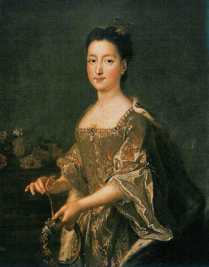 1690 Theresa Sobieski by François de Troy (location unknown to gogm) | Grand Ladies | gogm