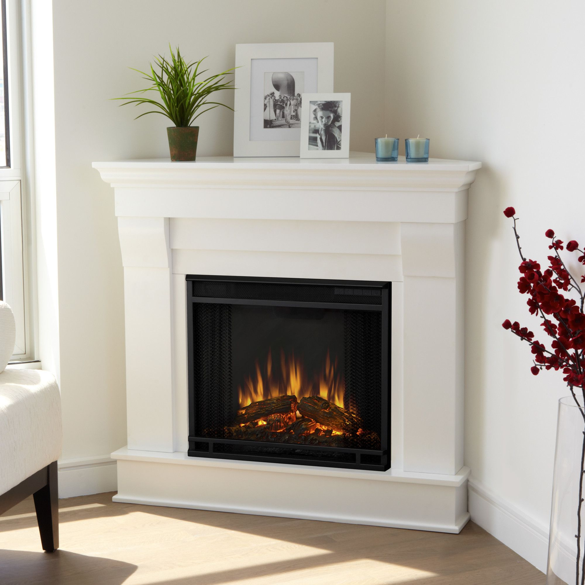 reviews in tv white gallery fireplace fresno electric real best amp wayfair flame stand with