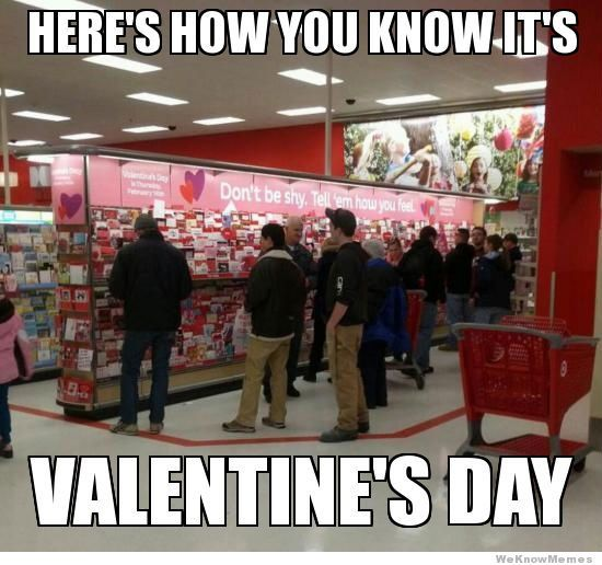 Men & Relationships - Valentine's Day Humor - Check in with Your Male Relationships at the link.