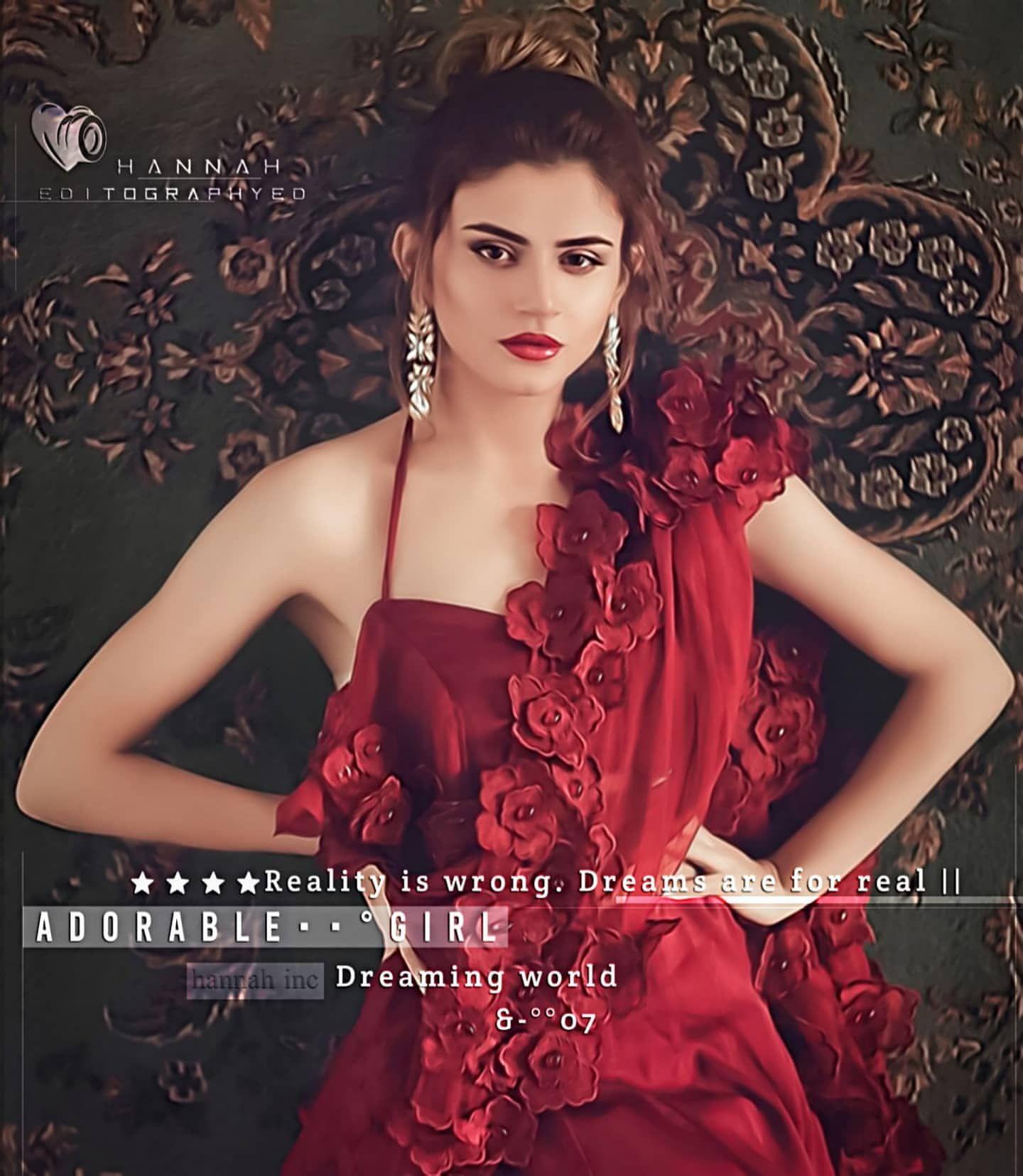 20++ Girls in red dress information