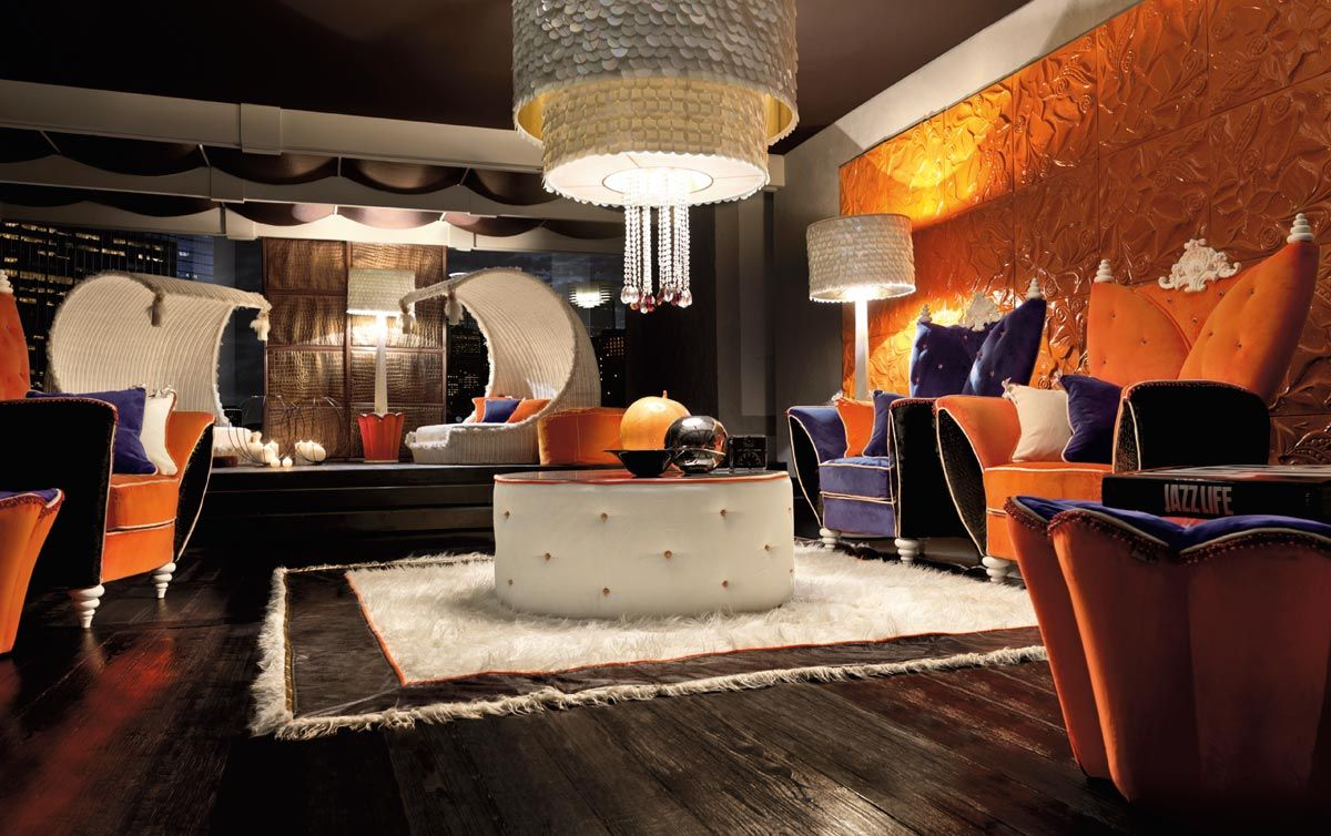 Orange Living Room Accessories Purple And Orange Living Room Ideas Yes Yes Go