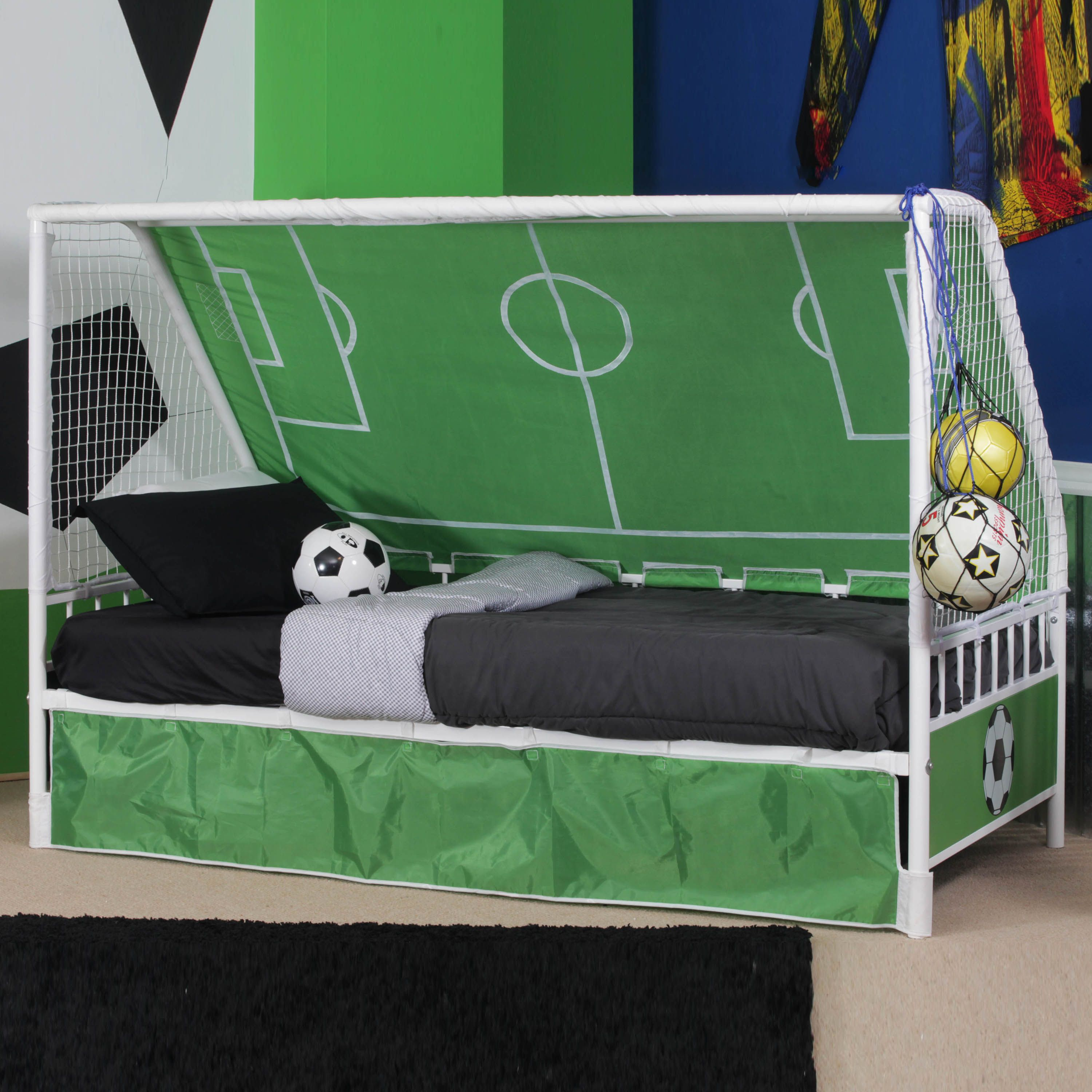 L Powell Goal Keeper Daybed Soccer bedroom, Soccer room