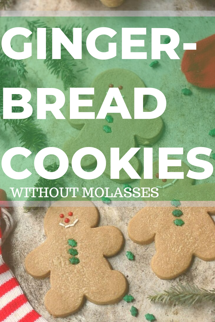 Easy Gingerbread Cookies Without Molasses Baker Bettie Recipe Easy Gingerbread Cookies Gingerbread Cookies Ginger Bread Cookies Recipe