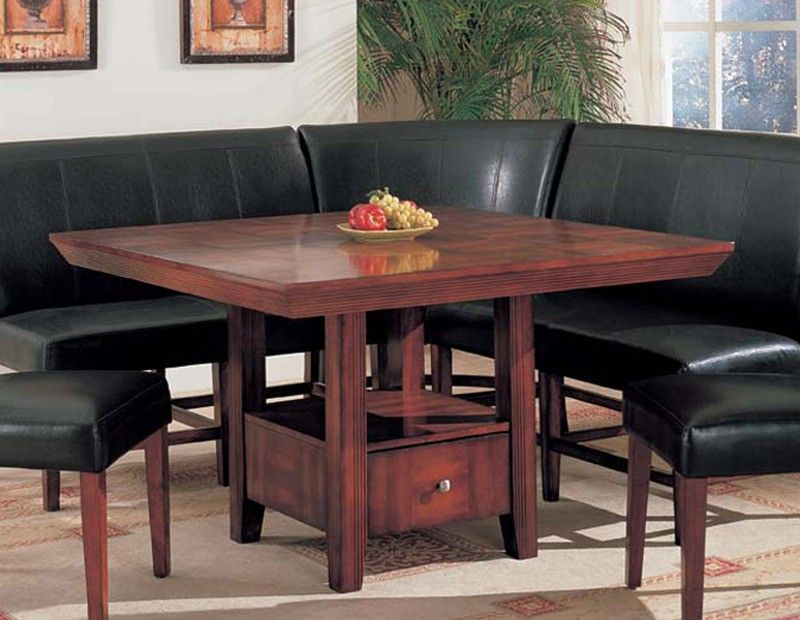 Corner Dining Set  Dolce 6Pc Corner Dining Set  Kitchen Table Delectable Corner Dining Room Furniture Design Ideas