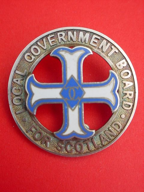Local Government Board General Nurse | BADGES & EMBLEMS