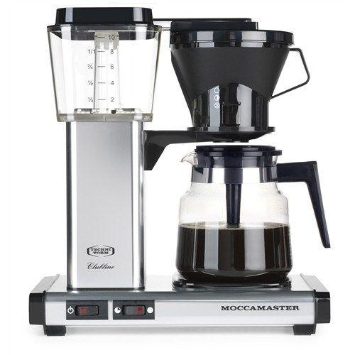 Moccamaster Kb741 Ao Polished Silver Kaffebryggare Med