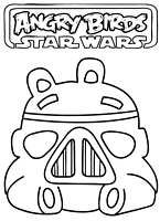 Free Printable Coloring Pages Angry Birds Star Wars 5 Bad Piggies