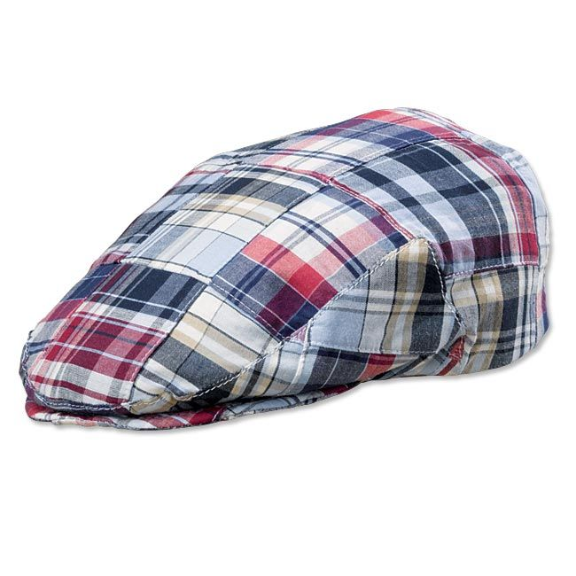 2e164ac15 Just found this Mens Patchwork Driving Cap - Patch Madras Drivers ...