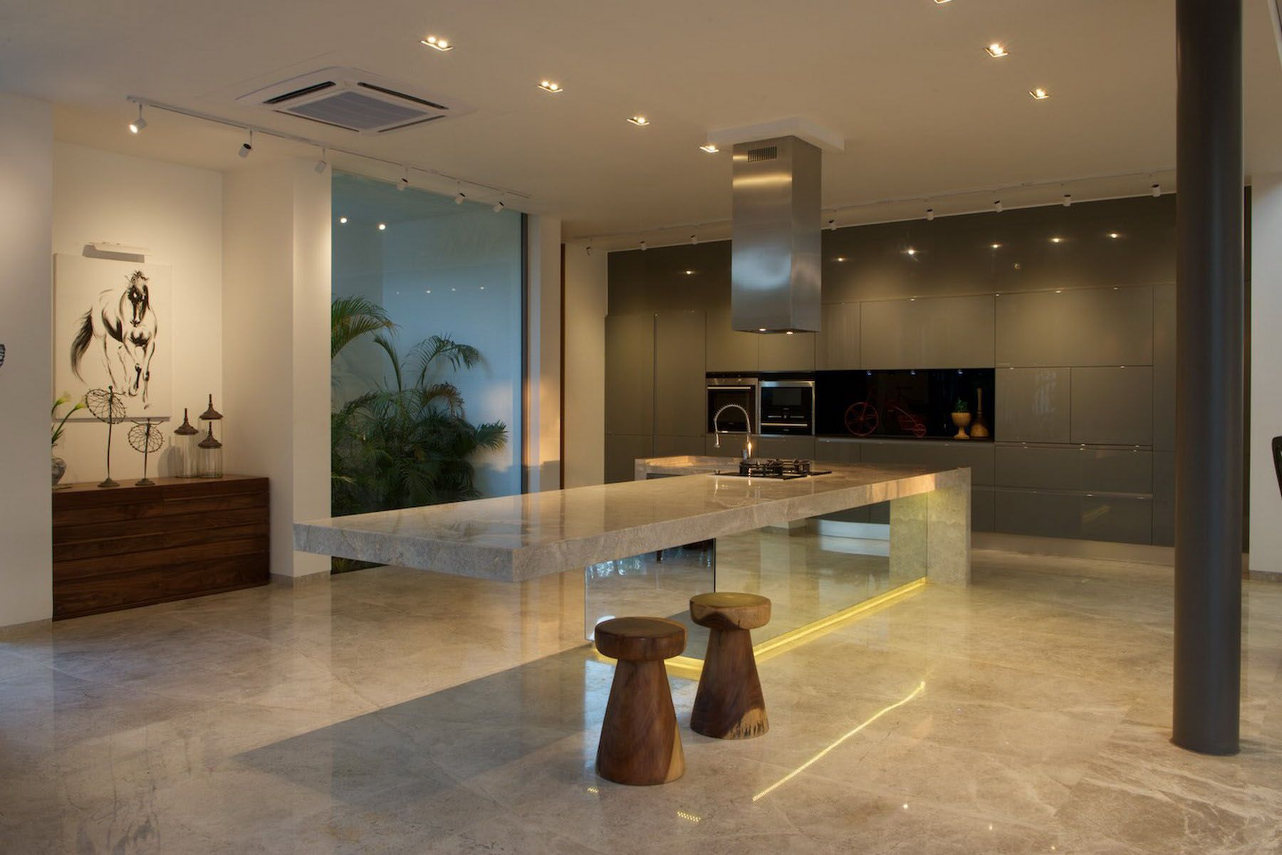 In and out living by s a k designs kitchens countertop and interiors