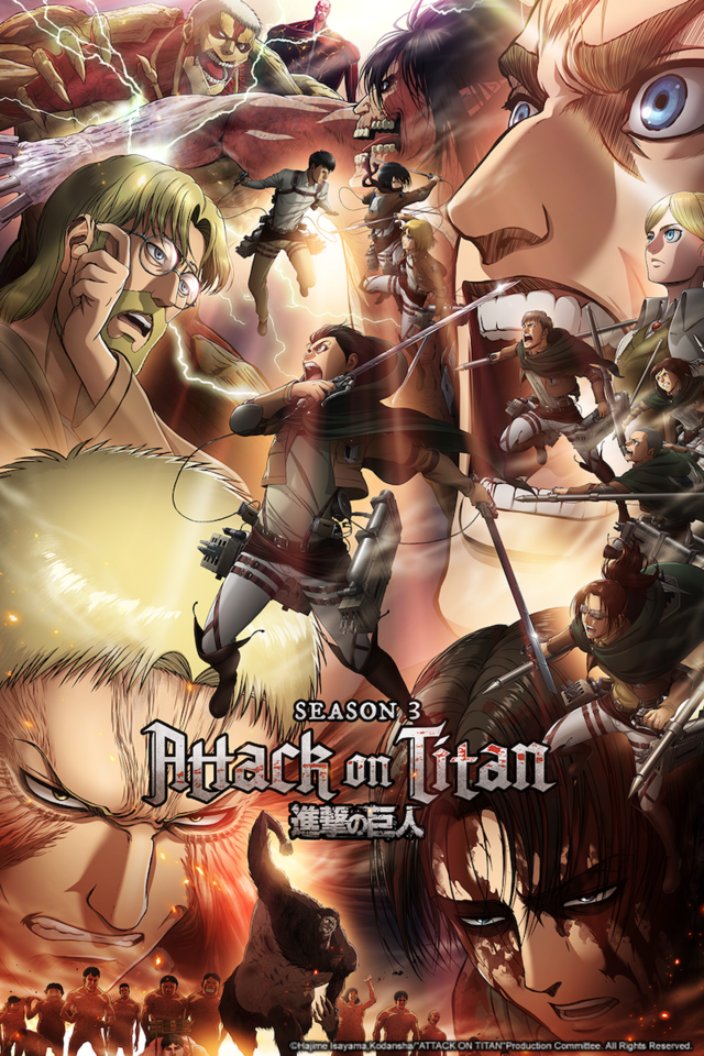 Sets Launch Time for Attack on Titan Season 3 Part 2