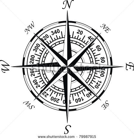 Old World Compass Stock Photos Old World Compass Stock