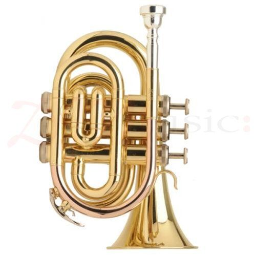 Jupiter Lacquered Pocket Trumpet - A high quality trumpet that is compact.