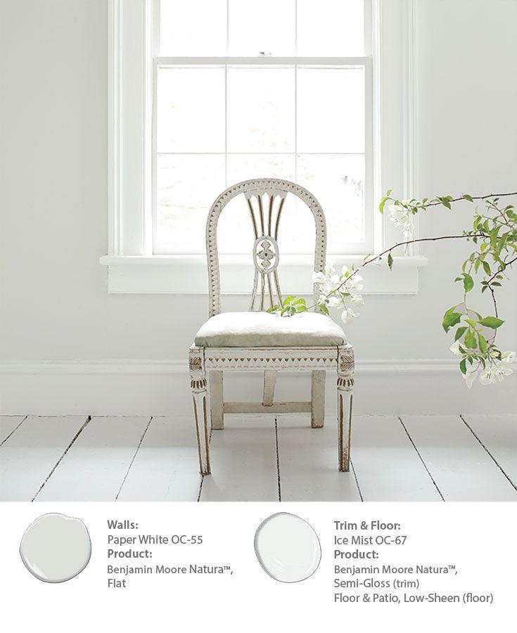 bm paper white walls living room white paint colors. Black Bedroom Furniture Sets. Home Design Ideas