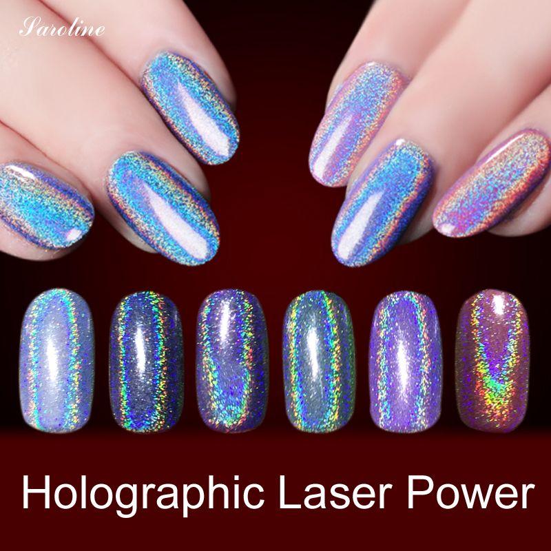 Efecto Espejo en polvo En Polvo Glitter holográfica Magia Polvo ...
