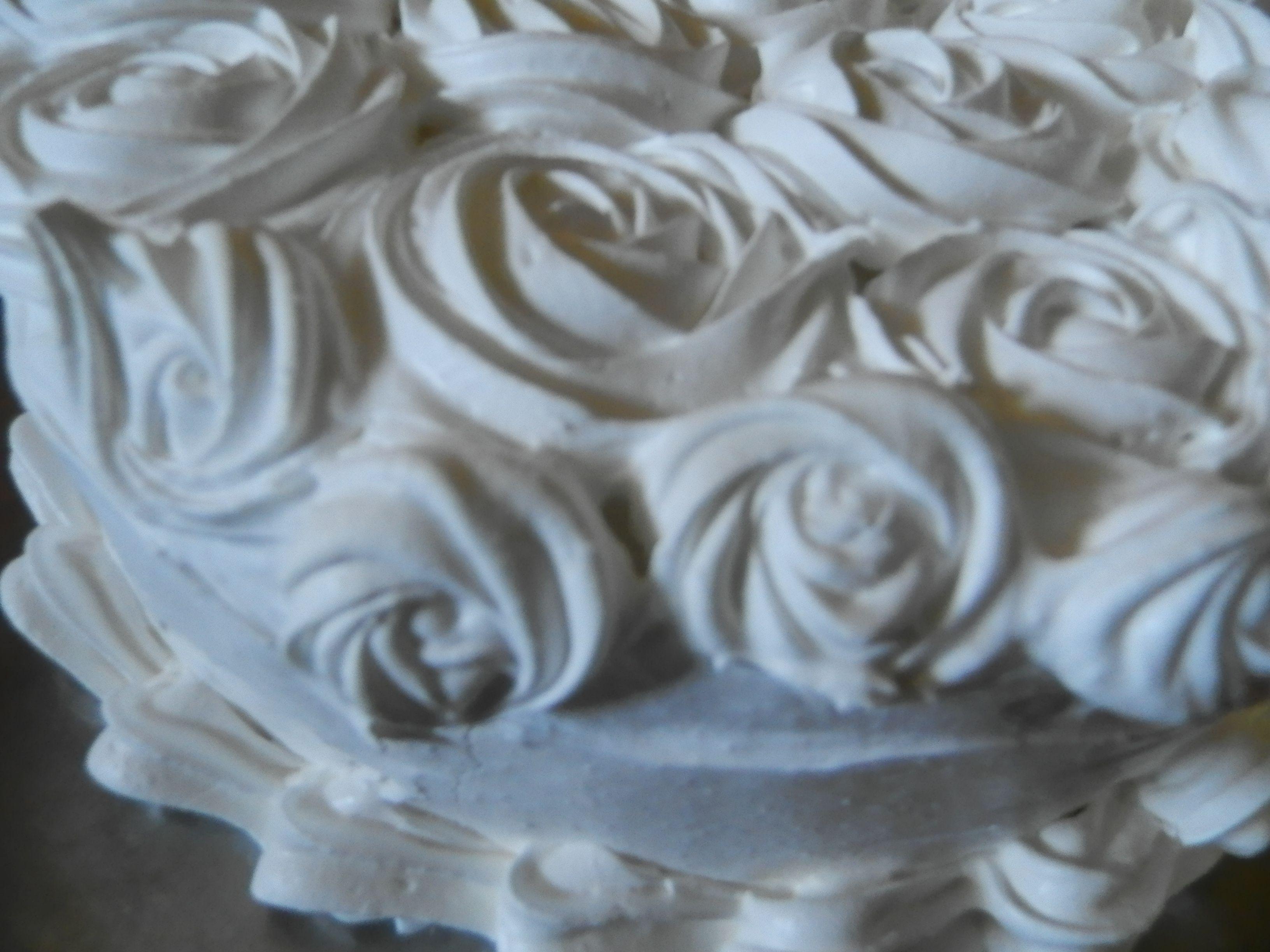 rosas en merengue