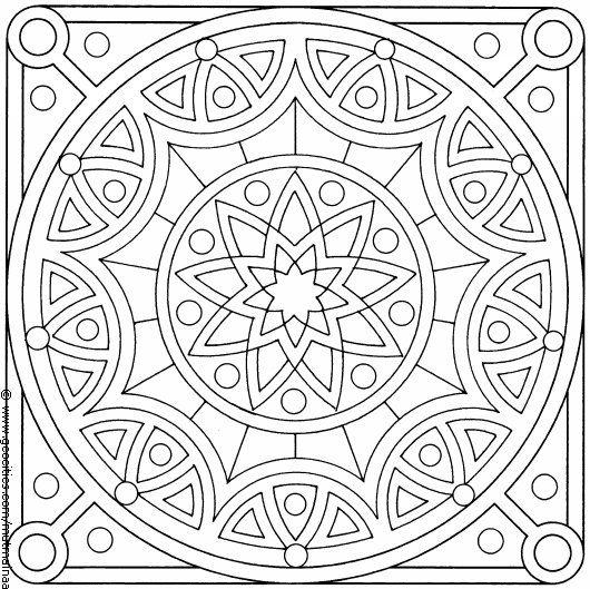 Pin Von Ana M Parsa Auf Pattern Muster Malvorlagen Mandala Malvorlagen Ausmalbilder